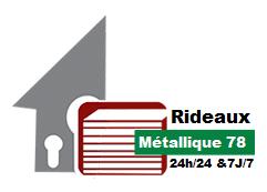 rideau metallique 78